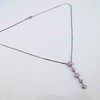 Lariat Style Diamond Necklace 7