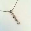 Lariat Style Diamond Necklace 21
