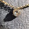 .53ct Antique Cushion Bezel Pendant, in Yellow Gold 9