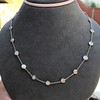4.05ctw Old European Cut Diamonds-by-the-yard Necklace 7
