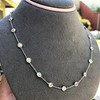 4.05ctw Old European Cut Diamonds-by-the-yard Necklace 9