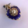 Victorian Enamel Pendant, Slider Chain 9