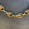 Vintage Handmade Fancy Link Gold Chain 3