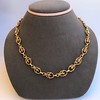 Vintage Handmade Fancy Link Gold Chain 11