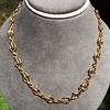 Vintage Handmade Fancy Link Gold Chain 0
