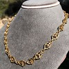 Vintage Handmade Fancy Link Gold Chain 14