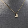 .64ctw Askew Heart Diamond Mosaic Pendant, in Yellow Gold 9