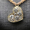 .64ctw Askew Heart Diamond Mosaic Pendant, in Yellow Gold 19