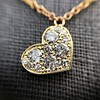 .64ctw Askew Heart Diamond Mosaic Pendant, in Yellow Gold 5