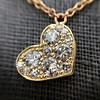 .64ctw Askew Heart Diamond Mosaic Pendant, in Yellow Gold 18