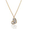 .64ctw Askew Heart Diamond Mosaic Pendant, in Yellow Gold 0