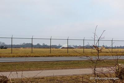 nederland 2013, eelde, machlaan, luchthaven, bomontploffing