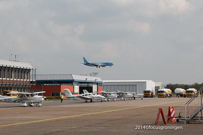 nederland 2014, eelde, machlaan, luchthaven, eerste arke vlucht antalya