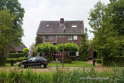 nederland 2021, veenhuizen, generaal van de boschweg, orde en tucht, woonhuizen