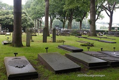 nederland 2021, veenhuizen, eikenlaan, begraafplaats het vierde gesticht