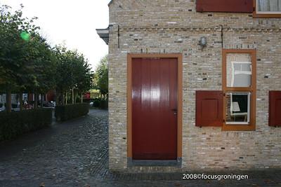 nederland 2008, bourtange, ramen en deuren