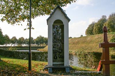 nederland 2008, bourtange, wachthuis