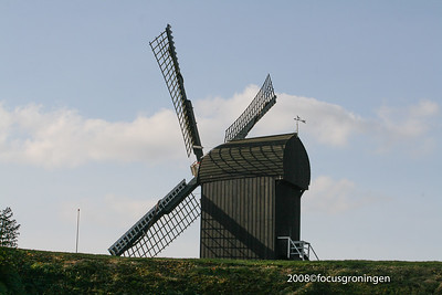 nederland 2008, bourtange, molens
