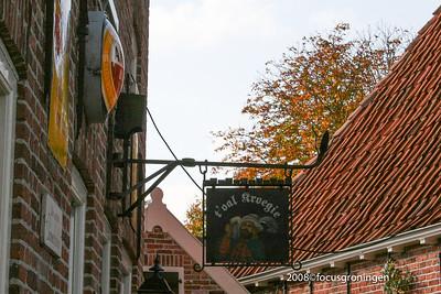 nederland 2008, bourtange, reclameborden