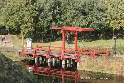 nederland 2008, bourtange, bruggen