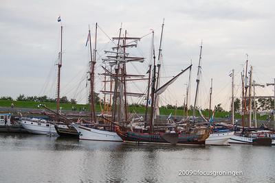 nederland 2009, eemshaven, eemshornweg, delfsail 2009