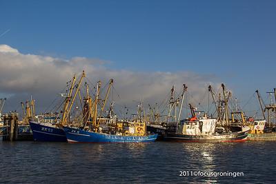 nederland 2011, lauwersoog, haven