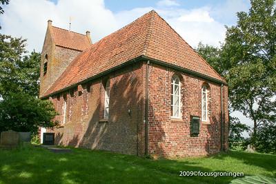 nederland 2009, oostum, oostumerweg, kerkje van oostum