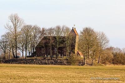 nederland 2012, oostum, oostumerweg, kerkje van oostum