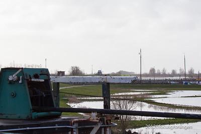 nederland 2012, zoutkamp, hunzingosluis