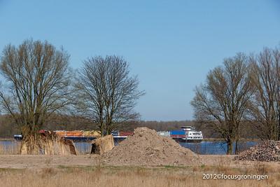 nederland 2012, werkendam, de hilweg, biesbosch