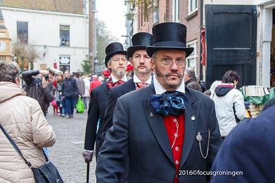 nederland 2016, deventer, golstraat, dickens festival