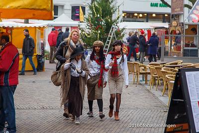 nederland 2016, deventer, brink, dickens festival