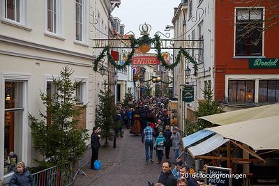 nederland 2016, deventer, walstraat, dickens festival