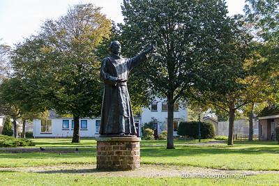 nederland 2011, schiermonnikoog, willemshof, de schiere monnik