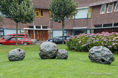 nederland 2013, groningen, bernoulliplein, rollebollen