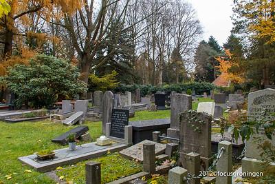nederland 2012, groningen, esserweg, begraafplaats esserveld