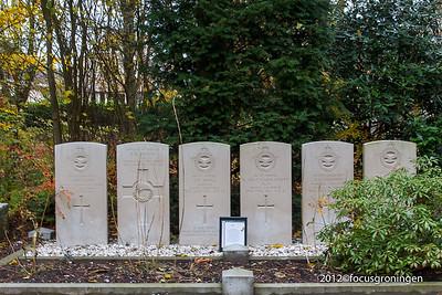 nederland 2012, groningen, esserweg, begraafplaats esserveld, oorlogsgraven