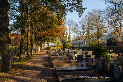 nederland 2020, groningen, hereweg, zuidelijke begraafplaats