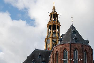 nederland 2009, groningen, akerkhof, der aa-kerk