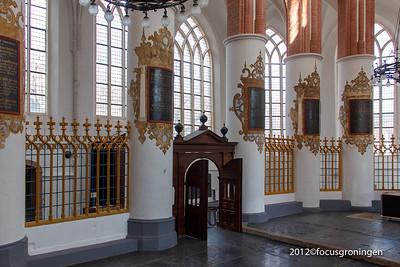 nederland 2012, groningen, akerkhof, der Aa-kerk