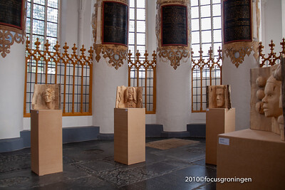 nederland 2010, groningen, akerkhof, der aa-kerk