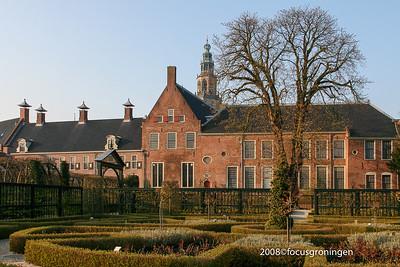 nederland 2008, groningen, turfsingel, prinsentuin
