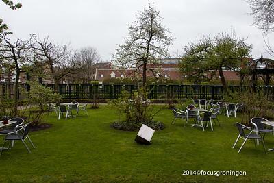 nederland 2014, groningen, turfsingel, prinsentuin opening theeschenkerij