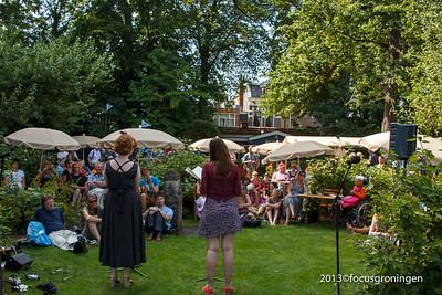 nederland 2013, groningen, turfsingel, prinsentuink, poëzie dichtersfestival