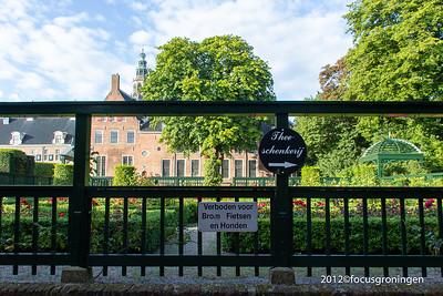 nederland 2012, groningen, turfsingel, prinsentuin
