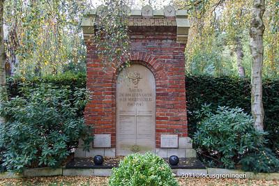 nederland 2011, groningen, hereweg, rooms- katholieke begraafplaats, hereweg, verzetstrijdersmonument