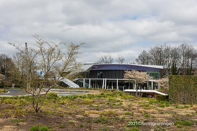 nederland 2021, groningen, helperzoom, paviljoen sterrebos