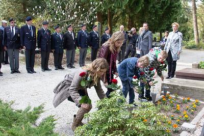 nederland 2013, goningen, esserweg, esserveld, dodenherdenking, oorlogsgraven geallieerden