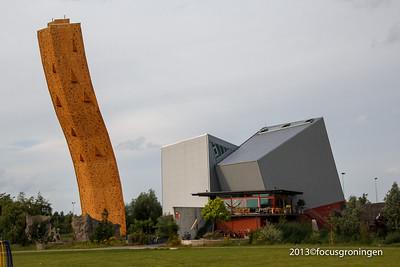 nederland 2013, groningen, bieskemaar, klimtoren