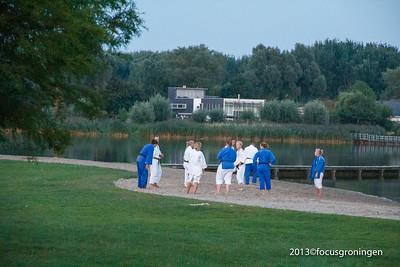 nederland 2013, groningen, medenpad, sporters